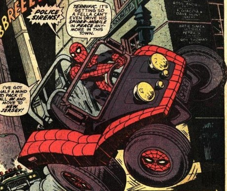 Amazing Spider-Man 141 - 01 spider-mobile